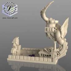 Kukulkan Diorama Dice Tower