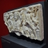 Relief with a portrait and procession of satyrs and maenads (Thiasus) image