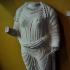Torso of a votive female statue image
