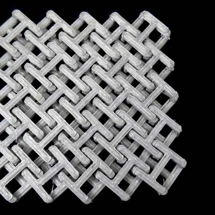 Chainmail - 3D Printable Fabric