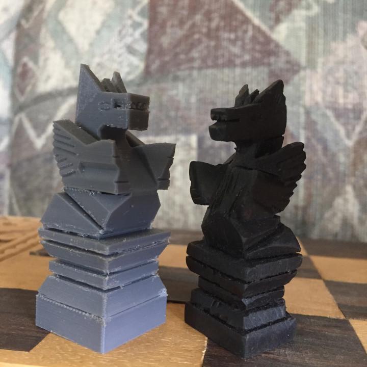 Homemade Chess Set Knight