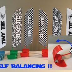 Self Balancing Indoor Drone Racing Flags