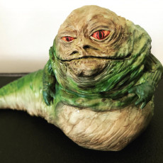 Picture of print of Jabba the Hutt (Small & Life Size)