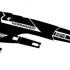 Stencil Mass Effect Normandy