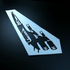 Picture of print of Stencil Mass Effect Normandy