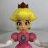 Princess Peach from Mario Games - multi-color print image