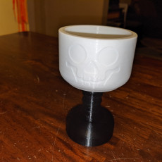 Picture of print of Skull Goblet Giant Lego Style