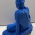 Avalokiteshvara Bodhisattva in the Water-Moon Form (Shuiyue Guanyin) print image