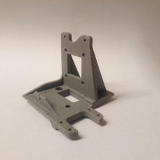Picture of print of Titan Aero Mount + Fan Duct + Wire Relief for Geeetech A30 and A10