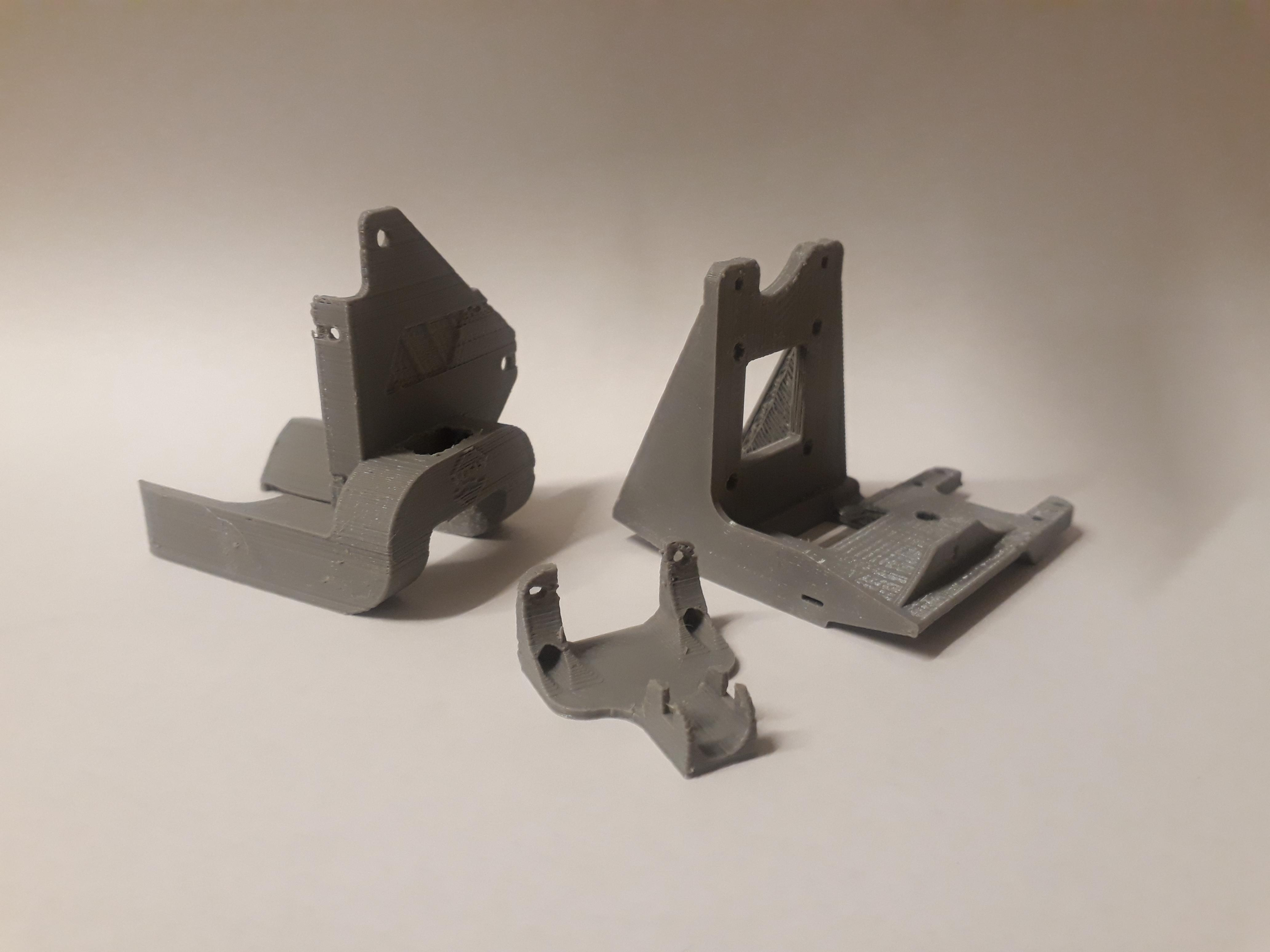 3D Printable Titan Aero Mount + Fan Duct + Wire Relief for Geeetech