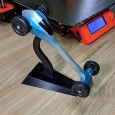 Pinewood Derby Car Stand