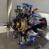 Radial Engine, 7-Cylinders, Cutaway print image