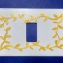 Switch plate with trees branches - BTicino model image
