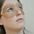 Dashed Masquerade Mask image