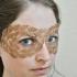 Leaf Masquerade Mask image