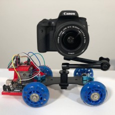 DIY Motorized and Remote Controlled UNO DSL Dolly