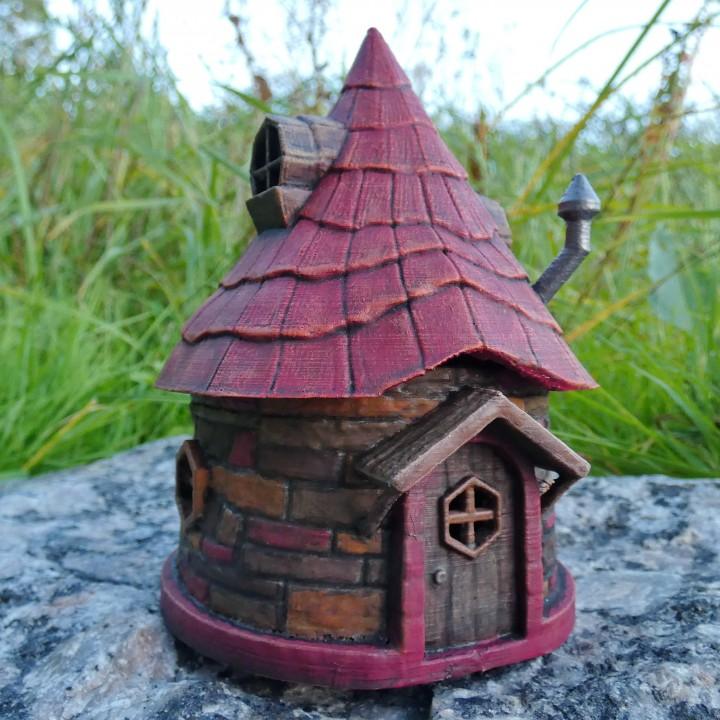 3D Printable Fairy Hut By Jukka Seppänen
