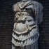 Fragmentary Cuirass statue of a Roman Emperor image