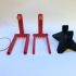 Micro Quadcopter Drone Balancing Tool and Stand image
