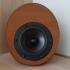 Egg Shaped Speaker with Dayton RS100 image