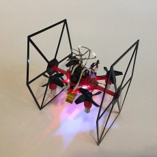 Picture of print of TINY TIE - 3D PRINTABLE INDOOR FPV TIE FIGHTER QUADCOPTER