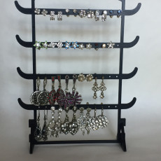 Picture of print of Earring Jewellery stand