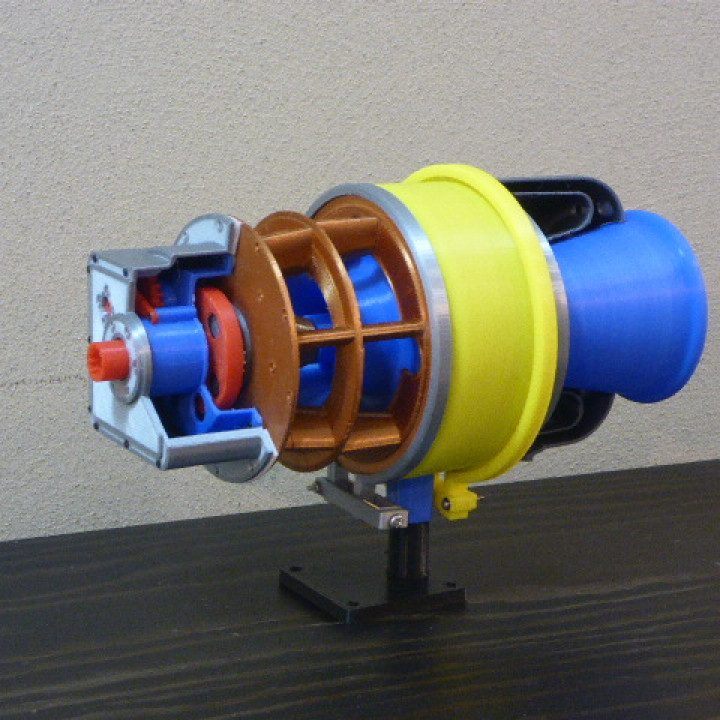 Turboshaft Engine, with Radial Compressor and Turbine