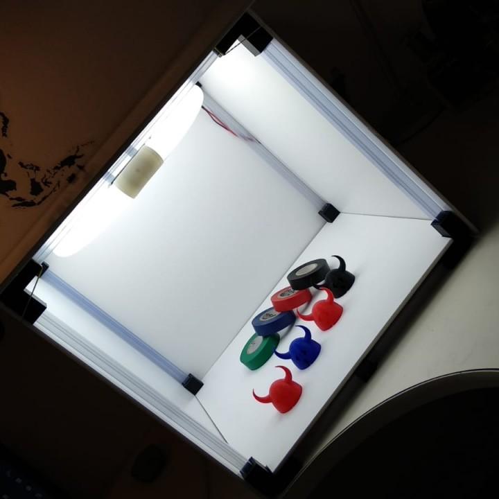 DIY Photo Light Box 3D Printed Parts