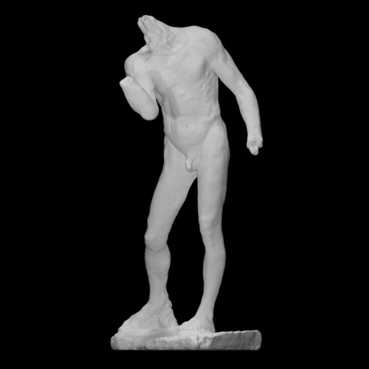 Nude Pierre de Wissant (Burgher of Calais study)