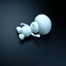 Picture of print of mario