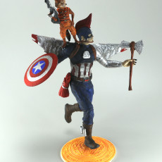 Picture of print of Captain America
