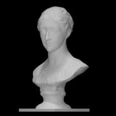 Bust of  Caroline Wohlfahrt