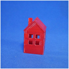 Picture of print of Little house for lightstring