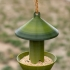 Hanging feeding place for birds, food dispenser, birdhouse image