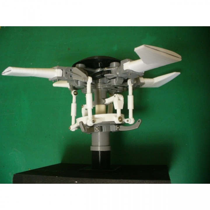 Main-Rotor-Head, for Helicopter, Fully Articulated Type