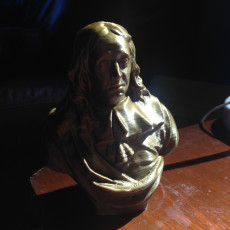 Picture of print of Bust of John Milton