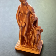 Picture of print of Venus and Cupid