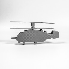 Picture of print of helicopter KA-29