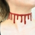 Bloody Slit Neck Choker image
