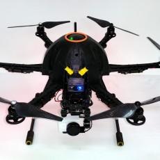 Canopy for hexa with Thunder S550 frame V2.0 ( only 125gr)