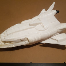 Picture of print of Space Shuttle Alpha