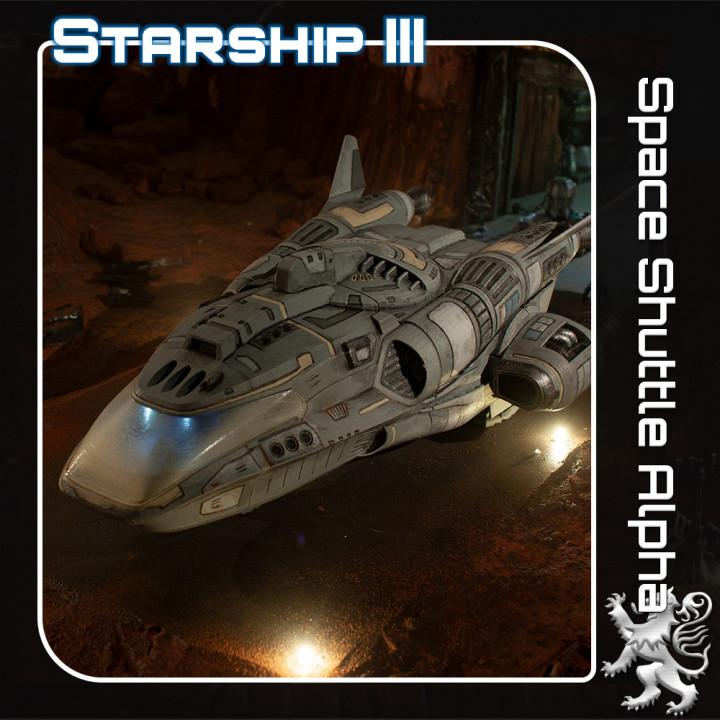 Space shuttle Alpha