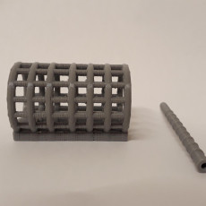 Picture of print of Open ended feeder with stem