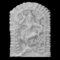 3D Printable Shiva Nataraja by Marchal Geoffrey
