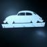 VW Bug Beetle KeyRack print image