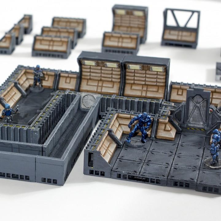 Corridors II Set (Starship II - OpenLOCK)