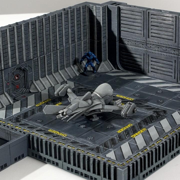 Hangar Set (Starship II - OpenLOCK)