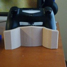 Picture of print of Controller Stand (PS4 Dualshock)
