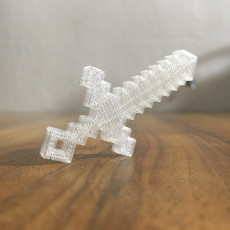 Picture of print of Sword keychain
