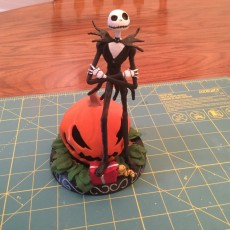 Picture of print of Jack Skellington